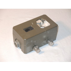 Military triple prism with IR detector